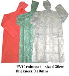 PVC raincoat 1