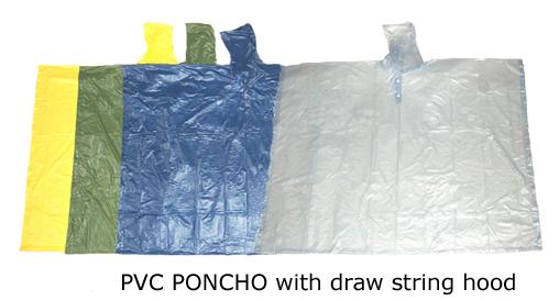 PVC poncho